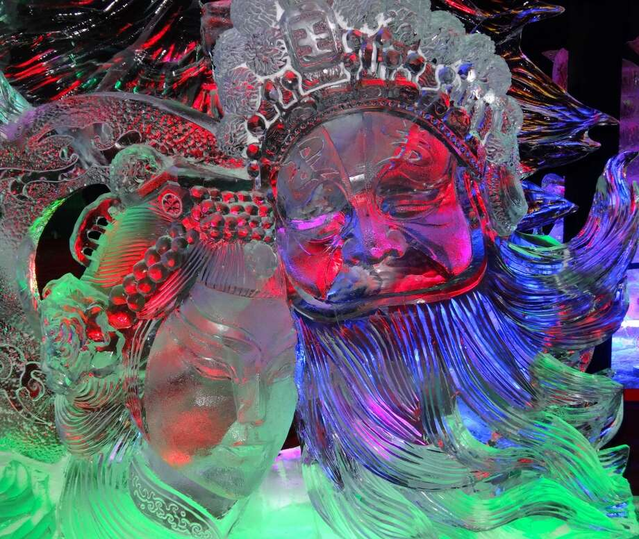Harbin Ice & Snow Sculpture Festival in Harbin, China. Photo: Chip Conley, Fest300