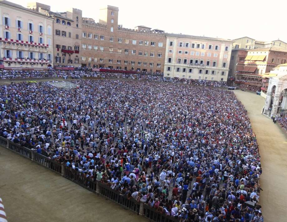 Il Palio races and festival in Siena, Italy. Photo: Chip Conley, Fest300