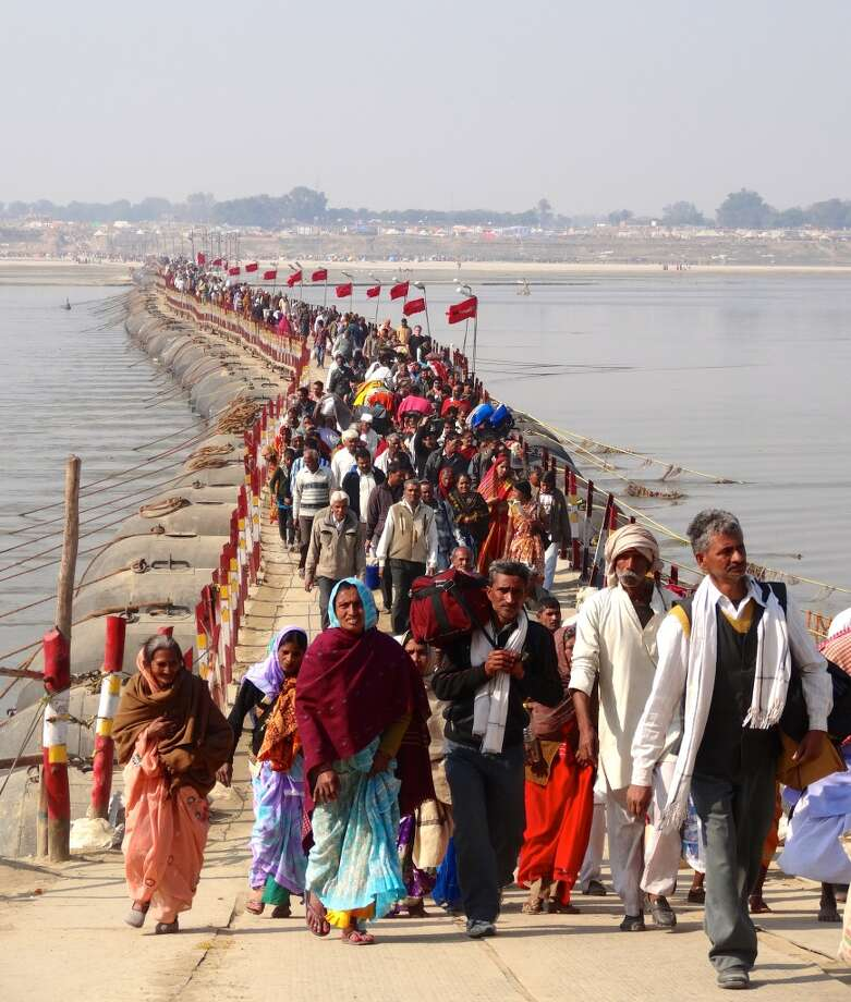 Kumbh Mela in Nashik, India. Photo: Chip Conley, Fest300