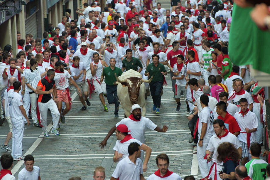 Fiesta de San Fermin in Pamplona, Spain. Photo: Nick Gammon, Fest300 / nick gammon