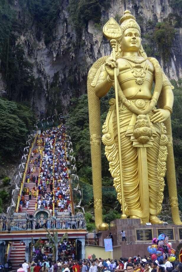 Thaipusam in Batu Caves, of Kuala Lumpur, Malaysia. Photo: Chip Conley, Fest300