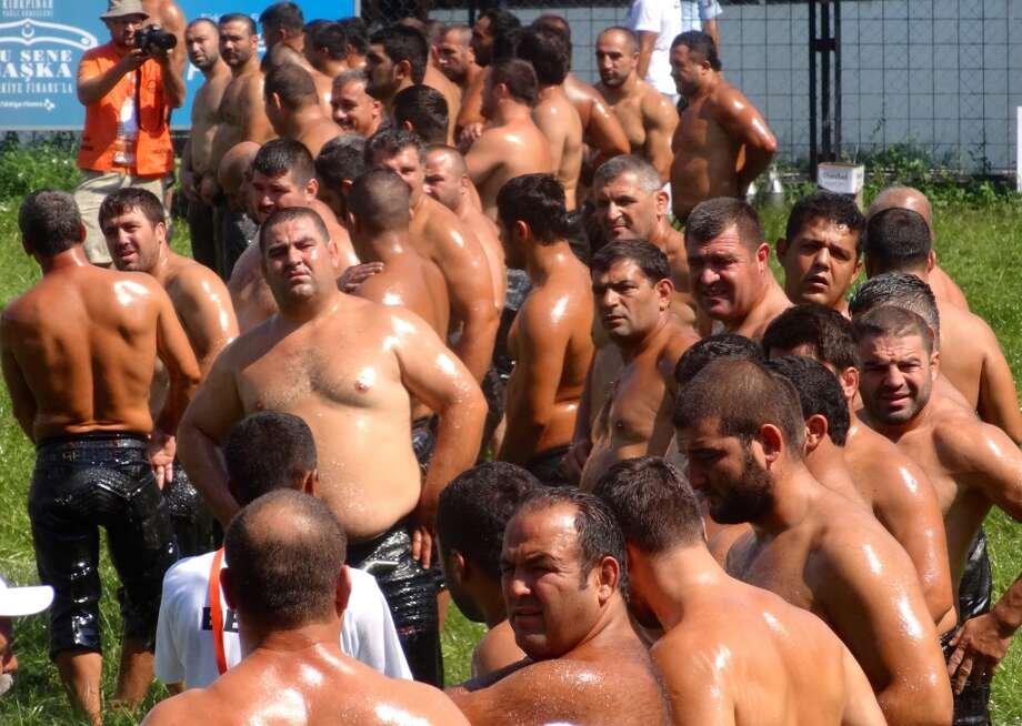 Kirkpinar Oil Wrestling Festival in Edirne, Turkey. Photo: Chip Conley, Fest300