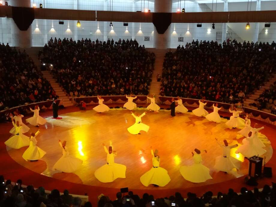 Mevlana Whirling Dervishes in Konya, Turkey. Photo: Chip Conley, Fest300