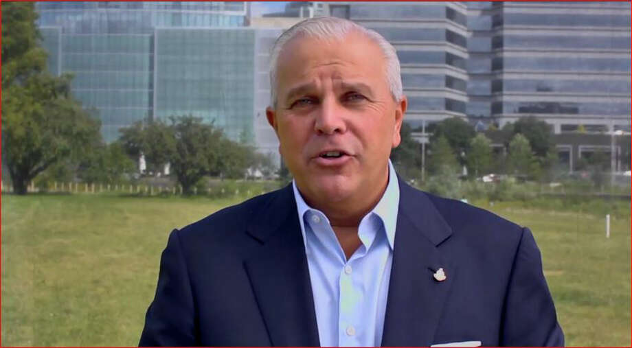Stamford Republican mayoral candidate Michael Fedele appears in a campaign advertisement that began airing on Monday. Photo: Contributed Photo