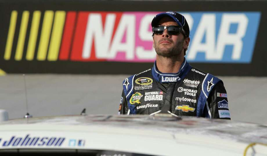 Jimmie Johnson, driver of the No. 48 car, currently leads the Sprint Cup points standings with two races remaining before the Chase begins. Photo: Jerry Markland, Getty Images / 2013 Getty Images