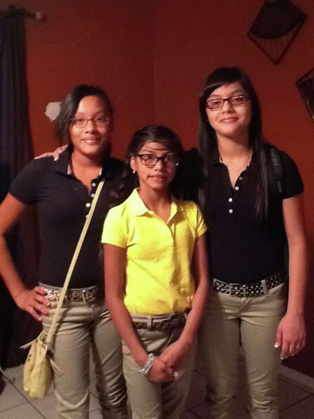 First day of middle school. Share your first day photos.