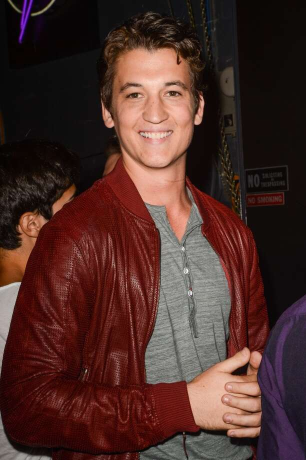 Actor Miles Teller leaves the Dream Downtown hotel on August 25, 2013 in New York City.  (Photo by Ray Tamarra/Getty Images) Photo: Ray Tamarra, Getty Images