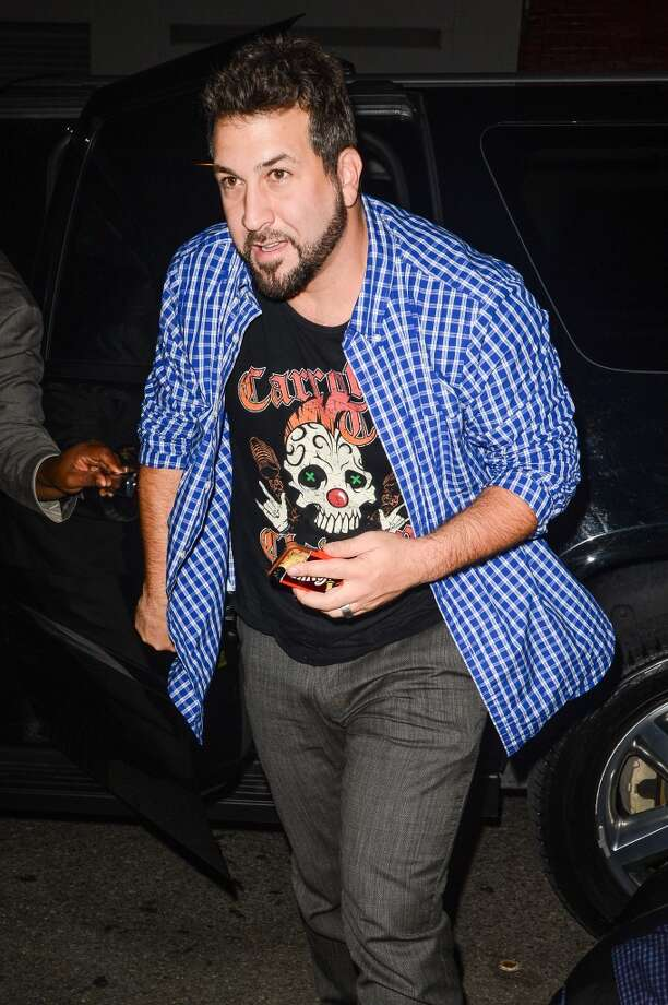 Singer Joey Fatone enters the Dream Downtown hotel on August 25, 2013 in New York City.  (Photo by Ray Tamarra/Getty Images) Photo: Ray Tamarra, Getty Images