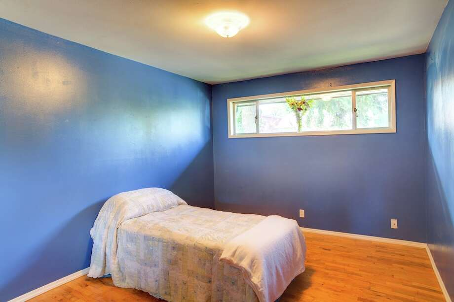 Bedroom of 3916 S.W. Webster St. It's listed for $434,950. Photo: Majanoue Groulx, John L. Scott Real Estate