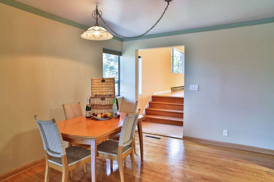 Dining room of 3916 S.W. Webster St. It's listed for $434,950. Photo: Majanoue Groulx, John L. Scott Real Estate