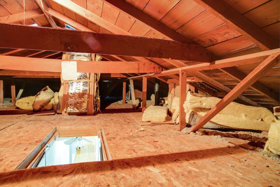 Attic of 3916 S.W. Webster St. It's listed for $434,950. Photo: Majanoue Groulx, John L. Scott Real Estate