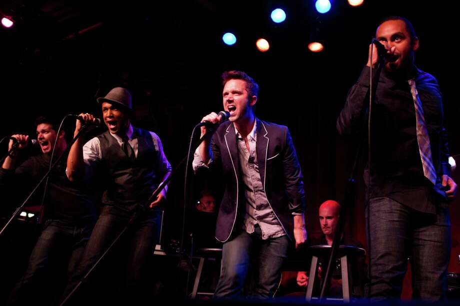 "A rotating group of New York theater singer-actors known as ""The Broadway Boys"" will be performing at Fairfield University on Saturday, Sept. 7, at 7:30 p.m. Photo: Contributed Photo / Connecticut Post Contributed"