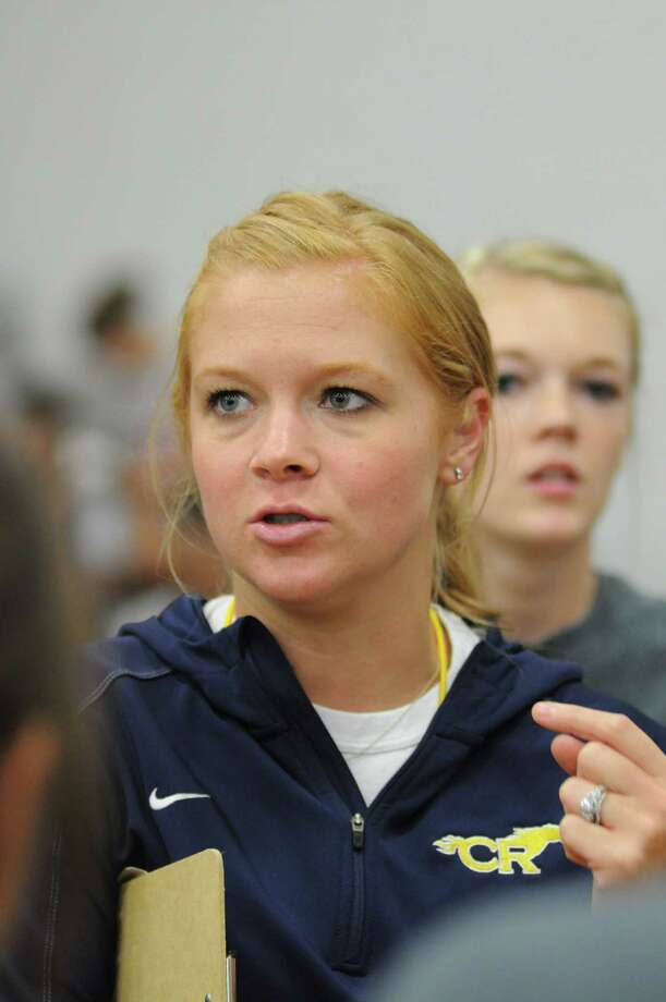 Cy Ranch volleyball coach Arley Kocher (pictured) is pleased to have 2012 sophomore Shelly Fanning for another three seasons. Fanning has been named to the 2012 Greater Houston Volleyball Coaches Association Preseason Team. Photo: L. Scott Hainline / The Chronicle