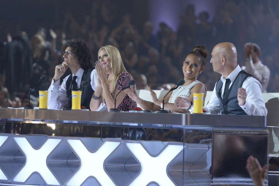 Judges Howard Stern, Heidi Klum, Mel B and Howie Mandel assess the competition on America's Got Talent. (Photo by: Virginia Sherwood/NBC/NBCU Photo Bank via Getty Images) Photo: NBC, NBCU Photo Bank Via Getty Images