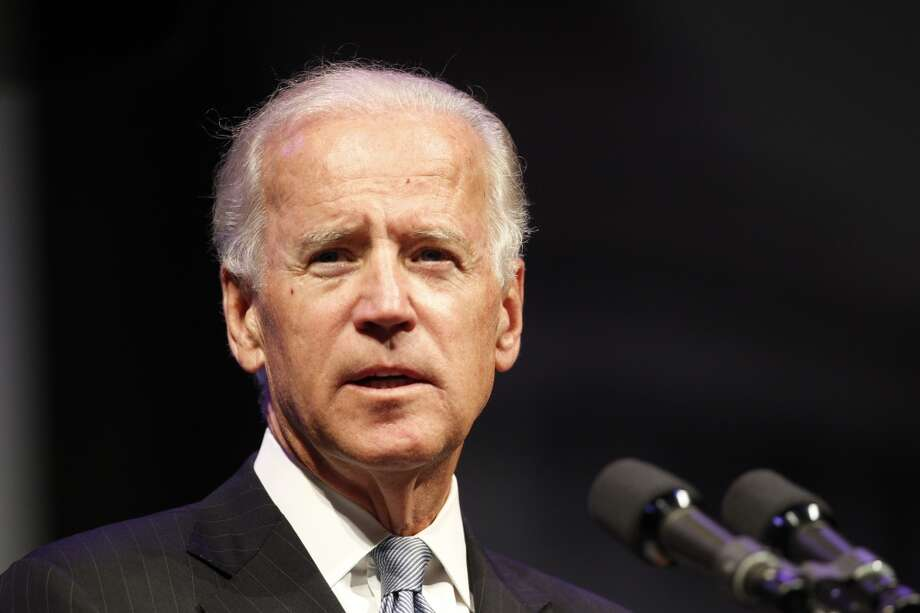 Vice President Joe Biden spoke at the American Legion national convention at the George R. Brown Convention Center in Houston, Tuesday, Aug. 27, 2013. (Johnny Hanson / Houston Chronicle)