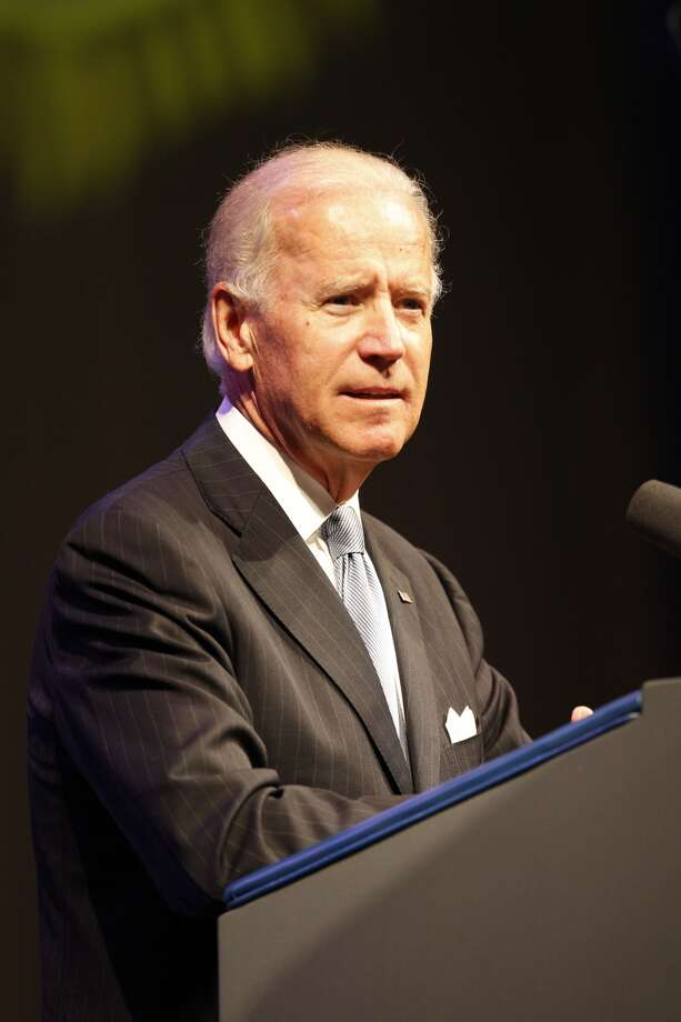 Vice President Joe Biden spoke at the American Legion national convention at the George R. Brown Convention Center in Houston, Tuesday, Aug. 27, 2013. (Johnny Hanson / Houston Chronicle) Photo: Johnny Hanson, Houston Chronicle