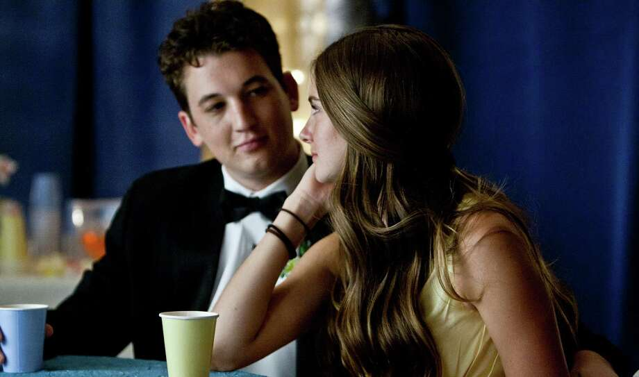 "Shailene Woodley and Miles Teller stary in ""The Spectacular Now."""