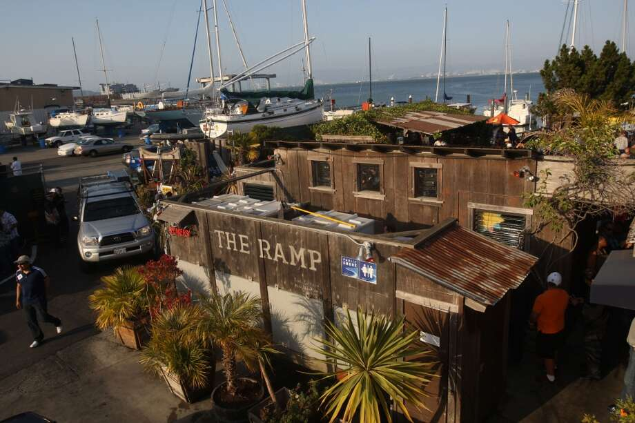An overview of the Ramp and boat yard in San Francisco. Photo: Liz Hafalia, The Chronicle
