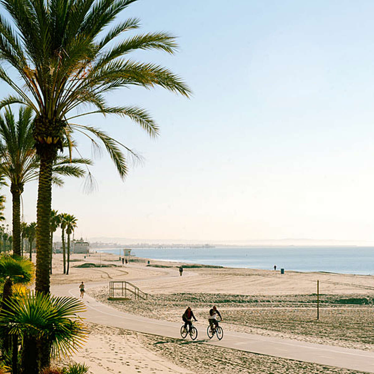 9. Santa Monica, CA This tourist must-see has 2.43 ice cream parlors per capita. A fan favorite is Beachy Cream, which makes all of their organic ice cream on-site. Their fun flavors include