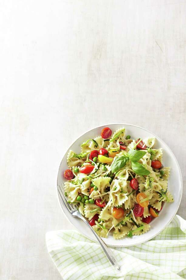Good Housekeeping recipe for Caesar Pasta Salad. Photo: Anna Williams