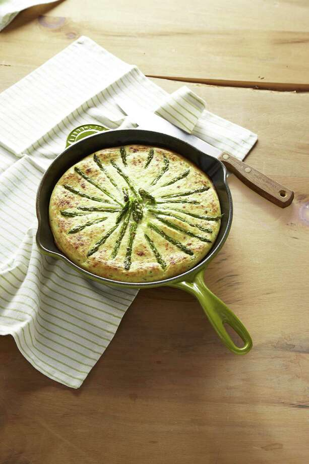 Good Housekeeping recipe for Asparagus-Ricotta Tart. Photo: Kate Mathis