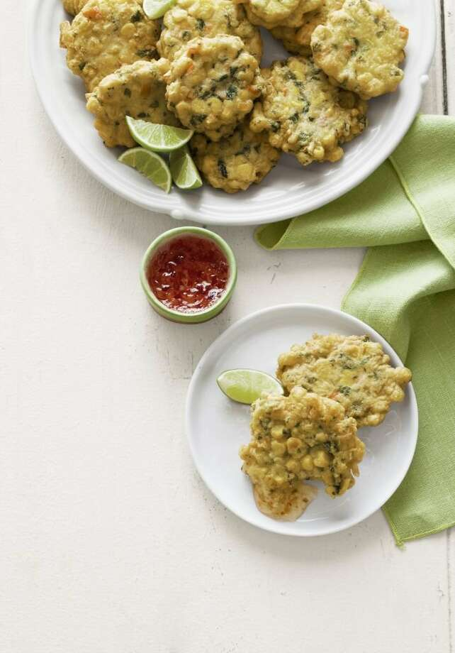 Country Living recipe for Corn Fritters. PHOTO Photo: Andrew Purcell