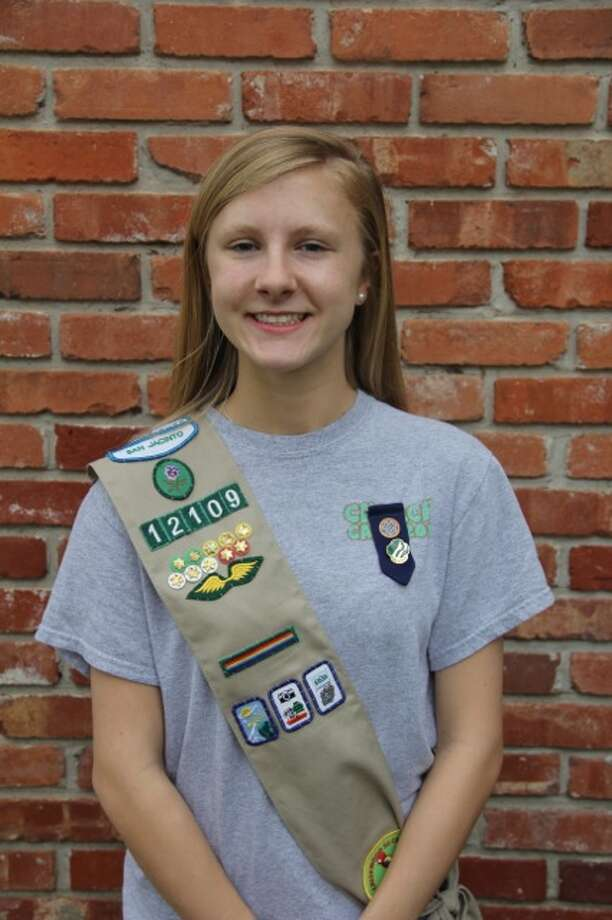 Elise Franke studies sports management at the University of Arkansas. Photo: Courtesy Of The Girl Scouts Of San Jacinto Council