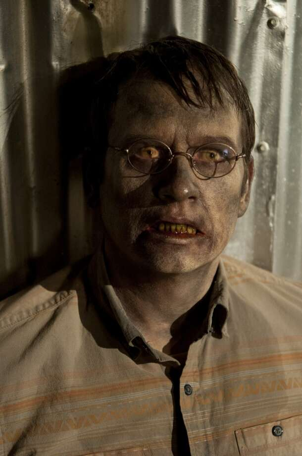Zombie Milton close-up!! Photo: Gene Page/AMC