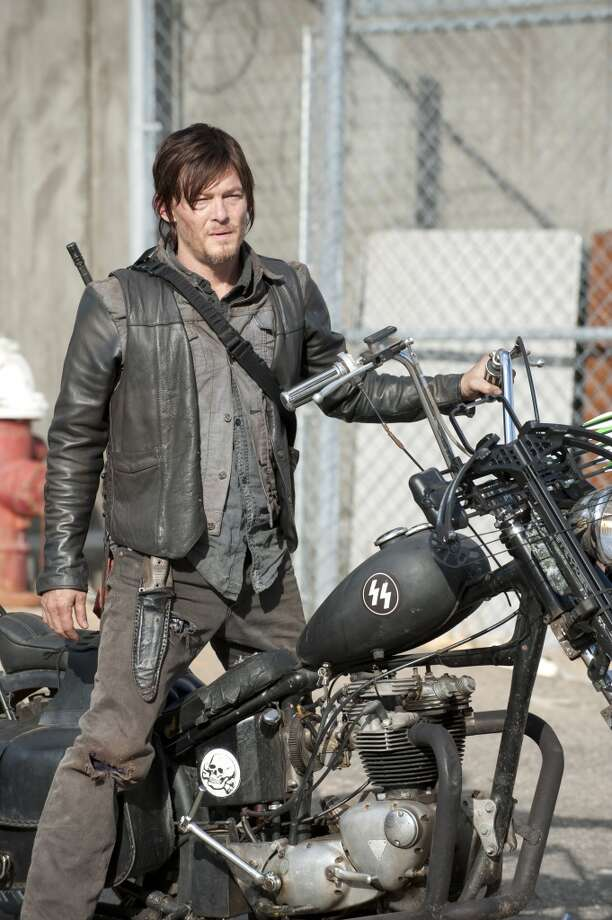 Daryl is still mourning his dead brother, Merle, who sacrificed his life for the others. Photo: Gene Page