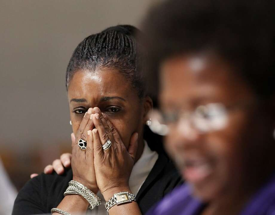 Jeralynn Blueford, mother of Alan Blueford, who was shot and killed by a police officer, is part of the group of victims' families in Oakland. Photo: Lacy Atkins, The Chronicle