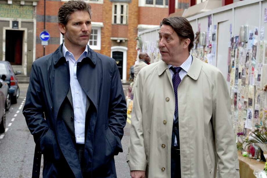 """Eric Bana, left, and Ciaran Hinds star in the legal thriller """"Closed Circuit."""" Photo: Jay Maidment, HOEP / Focus Features"""