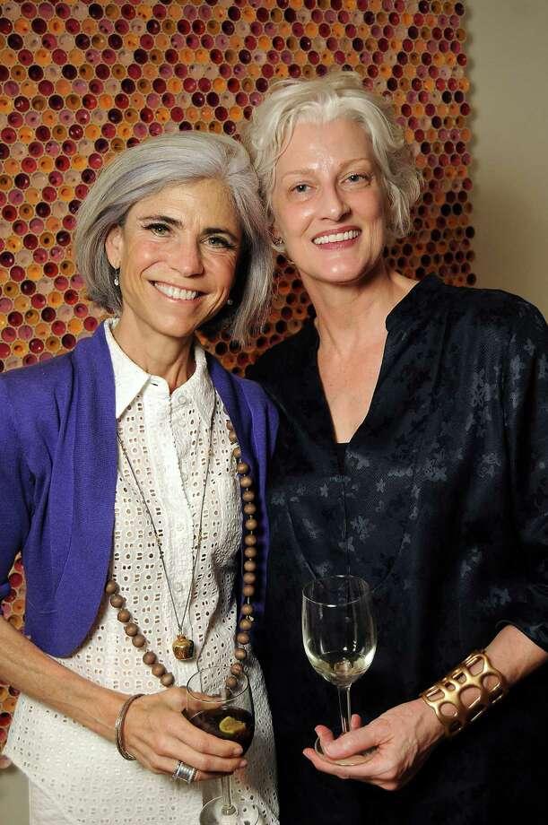 Judy Nyquist, left, and Virginia Rutledge Photo: Dave Rossman, Freelance / © 2013 Dave Rossman