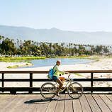 Malibu to Lompoc In Malibu, Highway 1 opens up and achieves escape velocity from greater Los Angeles. It is the Southern California of beachfront celebrity homes, towel-wrapped surfers shimmying out of wetsuits by the roadside, and lyrically named beaches: Zuma and Surfrider and El Matador. Soft light makes the Pacific shimmer and paints Santa Barbara's mountains with oranges and violets. Beyond Santa Barbara, Highway 1 turns inland as it crosses Gaviota Pass. You've left the ocean behind. But the final run toward Lompoc has its own appeal, as Highway 1 winds through the golden hills of the 13,000-acre Rancho San Julián—a working cattle ranch for 200 years.  Miles: 119 | Malibu's most expensive home sale: $75 million | Year Stearns Wharf built: 1872 | Size of Santa Rita Hills wine region: 100 sq. mi.
