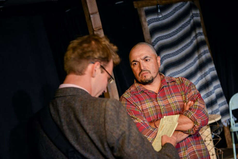 "Ty Mylnar (left) and Johnny Dimas appear in Proxy Theatre Company's ""Bethlehem."" Photo: Courtesy Siggi Ragnar"