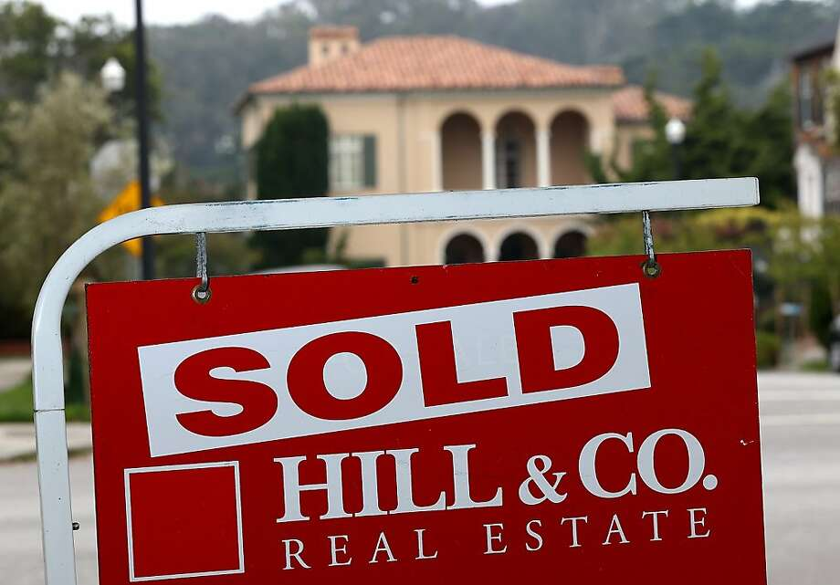 A popular property-value index rose 12.1 percent in June from a year earlier. Photo: Justin Sullivan, Getty Images
