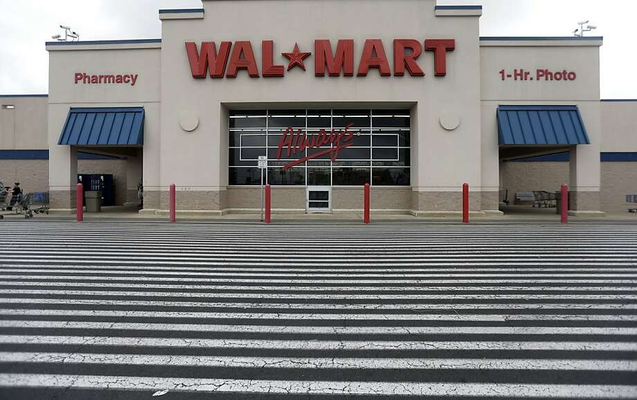 3. Wal-Mart -- down from second last year. Photo: Matt Rourke, Associated Press