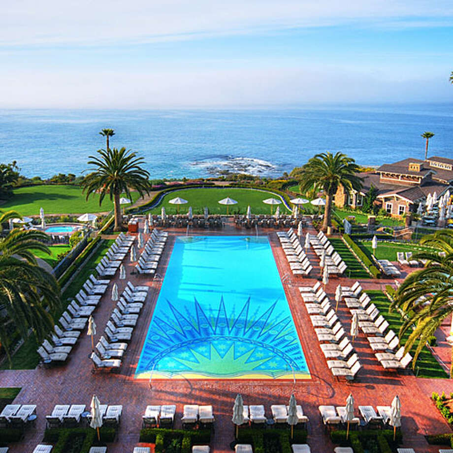Montage Laguna Beach  The resort of choice for many SoCal celebrities, the Montage prides itself on exclusivity—not to mention its ideal locale in ritzy Laguna Beach with the Pacific Ocean sprawling out before it. Check out the pool on warm days (of which there are many in Orange County) and see which A-listers you spy. Read more: Ultimate California Highway 1 road trip   Photo: Montage Laguna Beach, Sunset.com