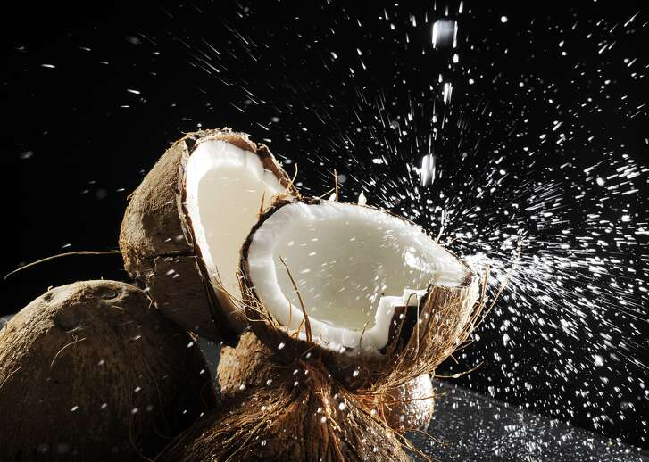 Coconut water is good for you.