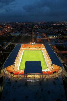 The Coogs will host Memphis at BBVA Compass Stadium, the home of the Dynamo, on Oct. 12. Photo: James Nielsen, Staff / © 2012 Houston Chronicle