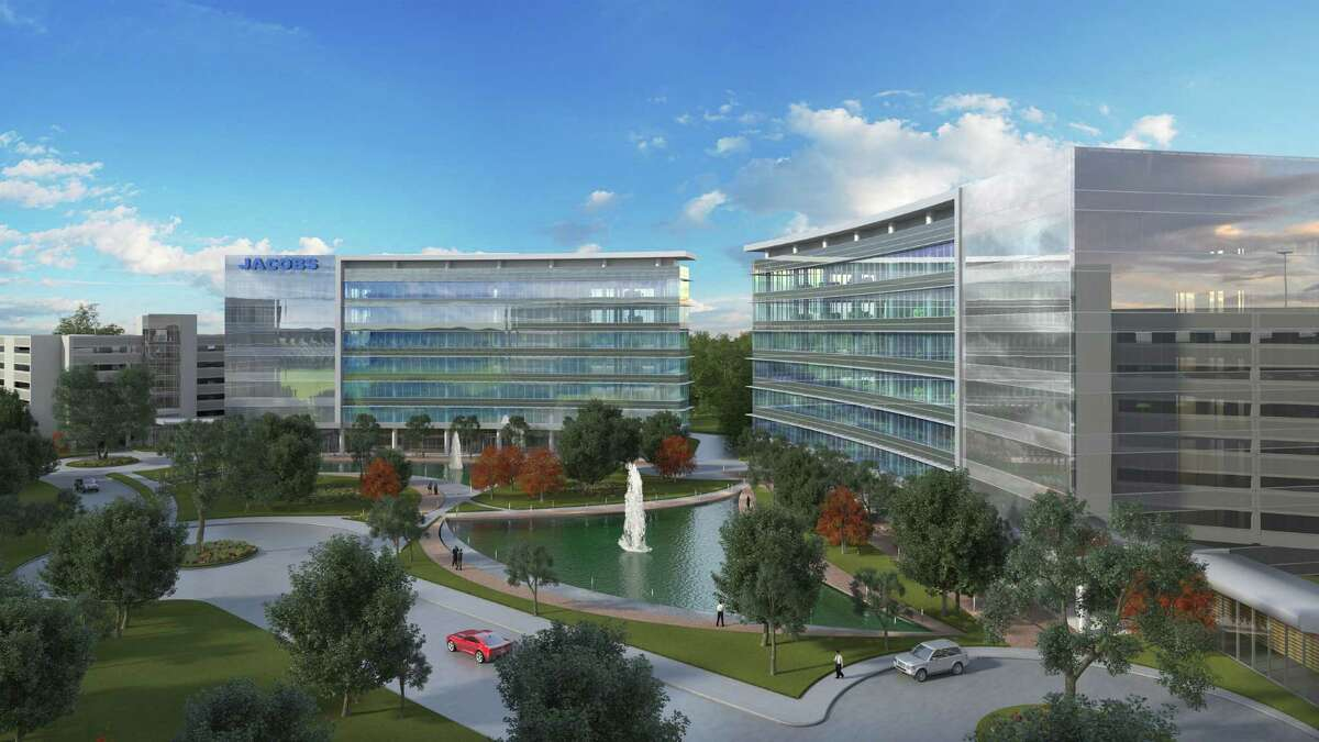 Jacobs Engineering Group is planning to lease almost 82,000 square feet in a seven-story building in Woodbranch Plaza.