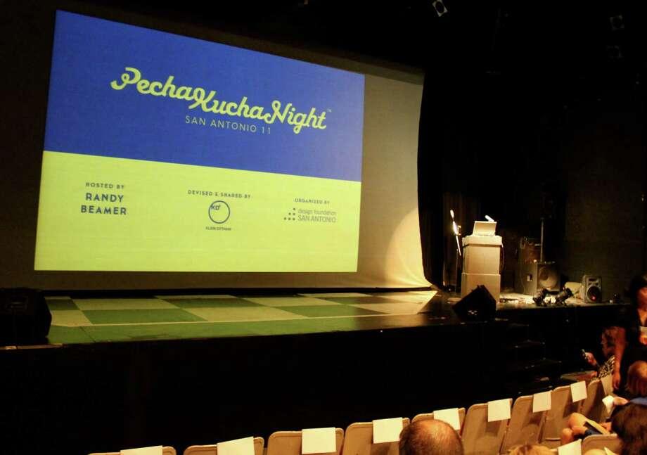 PechaKucha Night San Antonio 11 show at the Josephine Theater on Tuesday, Aug. 27, 2013. Photo: Yvonne Zamora / San Antionio Express-News