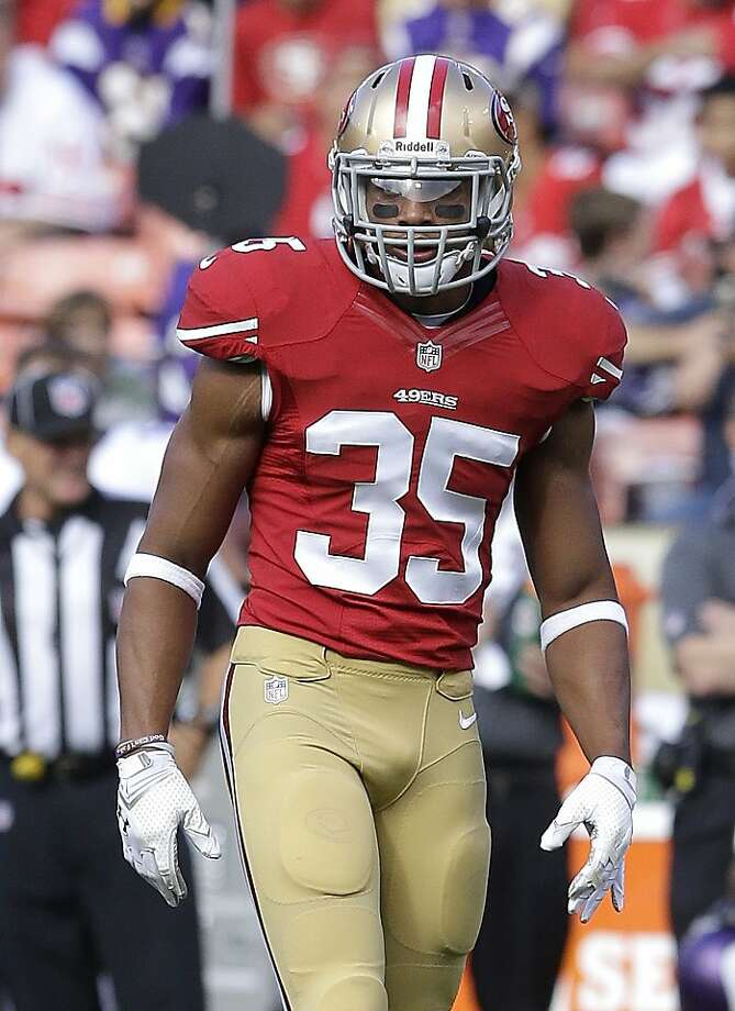 After proving his mettle against Minnesota on Sunday, Eric Reid was named a starting safety for the season opener. Photo: Jeff Chiu, Associated Press