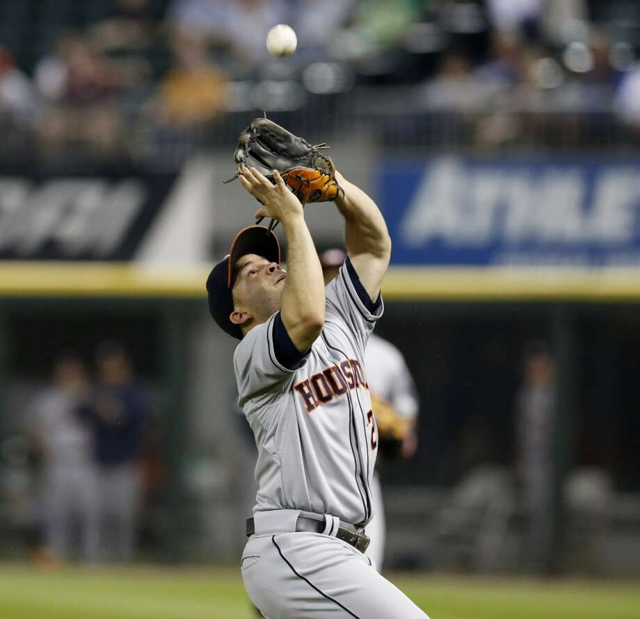 Aug. 27: White Sox 4, Astros 3  Chicago's rally stuck this time. A three-run eighth inning was enough to put away the Astros.  Record: 44-87. Photo: Charles Rex Arbogast, Associated Press