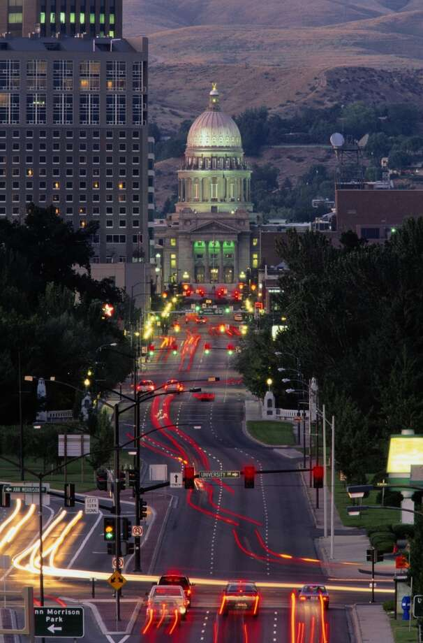 Allstate's safest driving cities2. Boise, Idaho: One crash per driver every 13.9 years. Photo: Glen Allison, Getty Images