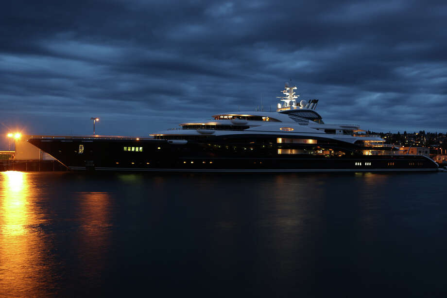 The Serene, a 440-foot yacht owned by Russian vodka mogul Yuri 