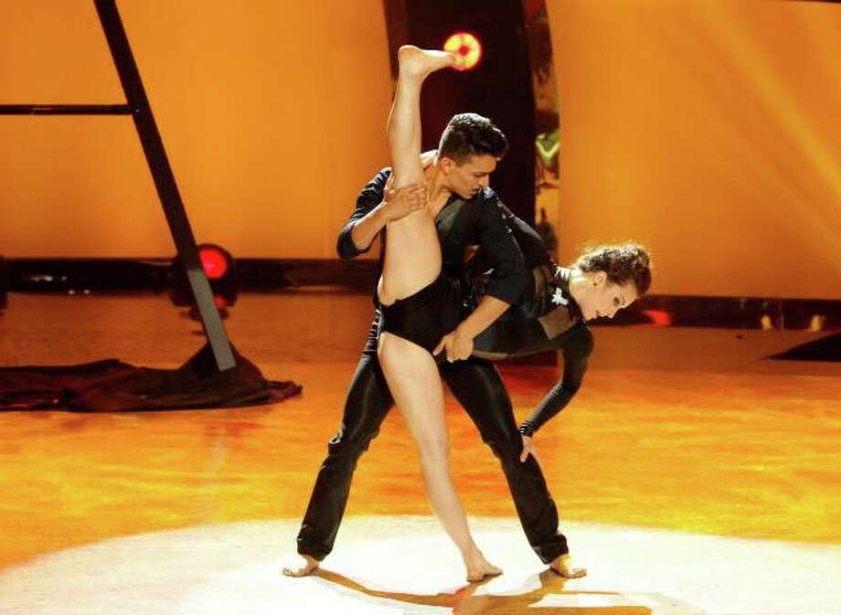 "SO YOU THINK YOU CAN DANCE: L-R: Top 6 contestant Paul Kamiryan and all-star dancer Kathryn McCormick perform a Jazz routine to ""Tied Up"" choreographed by Tyce Diorio on SO YOU THINK YOU CAN DANCE airing Tuesday, August 27 (8:00-10:00 PM ET/PT) on FOX. ©2013 FOX Broadcasting Co. Cr: Adam Rose / 1"