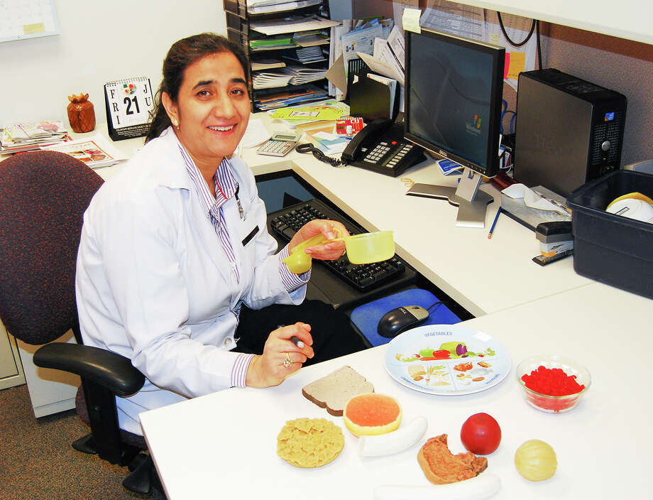 Humaira Maqbool is a dietitian at Kelsey-Seybold-Clear Lake. Photo: Contributed