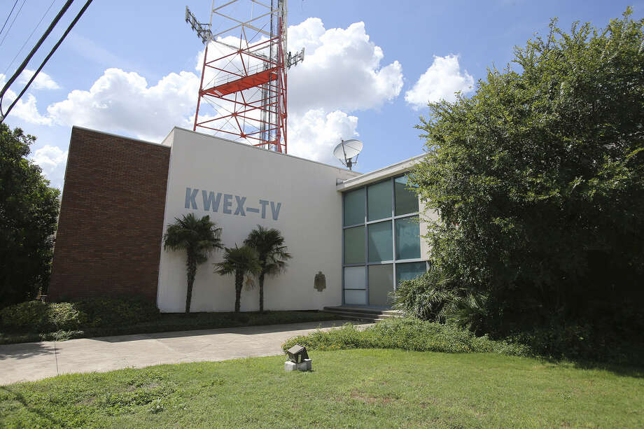 An apartment building is planned on the site where the former home of KWEX now sits. Photo: Tom Reel / San Antonio Express-News