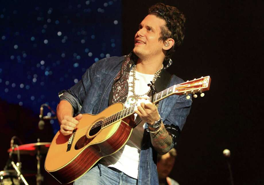 John Mayer performs in concert at the Susquehanna Bank Center on Friday, Aug. 23, 2013, in Camden, N.J. (Photo by Owen Sweeney/Invision/AP) ORG XMIT: NJOS103 Photo: Owen Sweeney / Invision