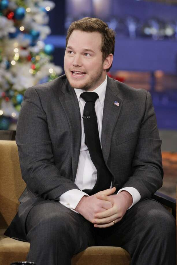 Above: `Parks and Recreation' actor Chris Pratt. Below: Pratt getting fit for his role in `Guardians of the Galaxy.'